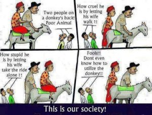 This is our society