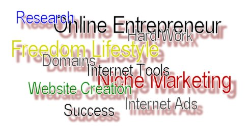 What is the definition of an online entrepreneur?